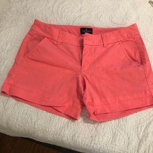 Pink / salmon American Eagle shorts 6